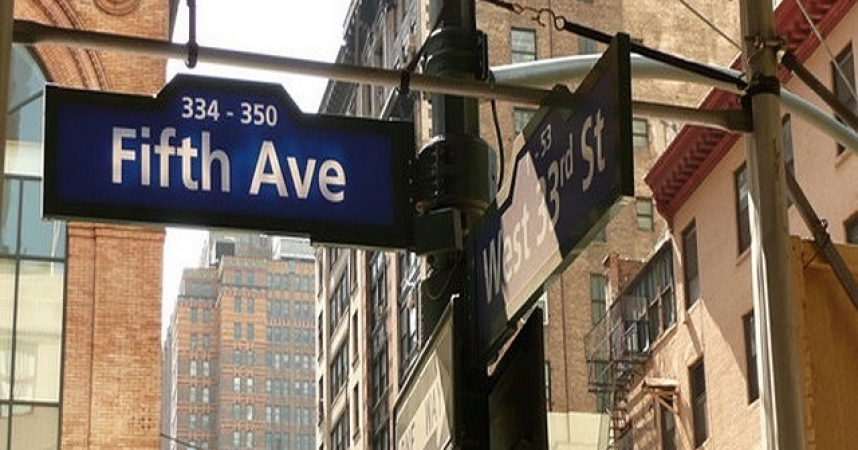 5th Avenue in New York City remains the most visited and also the most expensive shopping street