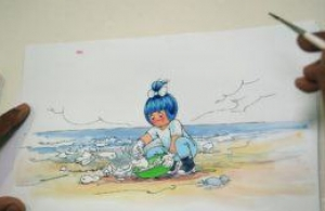 The « Amul girl », India for 50 years