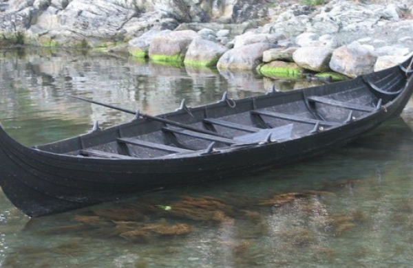 Norway : A huge Viking shipyard in the heart of agricultural land