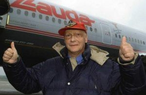 Niki Lauda, a giant with nerves of steel, has flown away